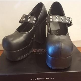 ヨースケ(YOSUKE)のdemonia 厚底靴(ハイヒール/パンプス)