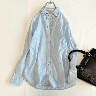 美品♪マディソンブルー デニムシャツ ライトブルー 0サイズ 日本製