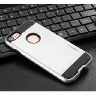 【送料無料】 iphone7用 メタル系 (シルバー)