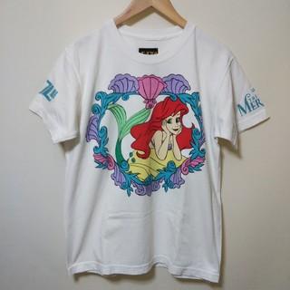 ギザ(GIZA)のGIZA × Disney アリエル Tシャツ M(Tシャツ(半袖/袖なし))