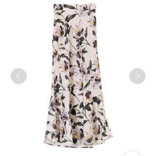 フレイアイディー(FRAY I.D)のフラワーマキシスカート(ロングスカート)