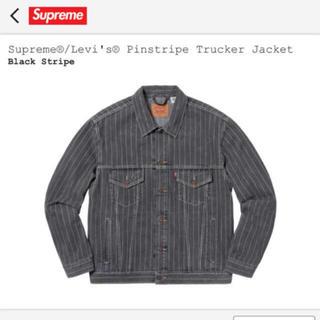Supreme - Levi's×supreme Pinstripe Trucker Jacket