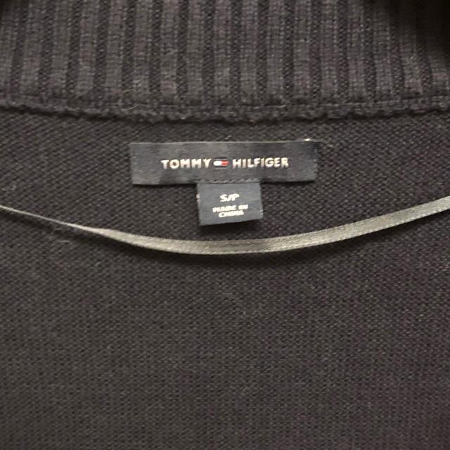 TOMMY HILFIGER(トミーヒルフィガー)のトミーヒルフィガー トミーカラーニット レディースのトップス(ニット/セーター)の商品写真