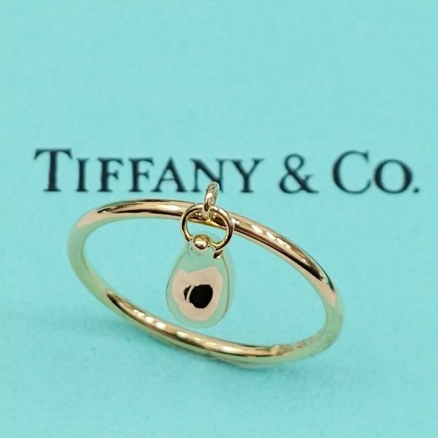 Tiffany & Co.(ティファニー)のティファニーリング K18YG750 ティアドロップ  レディースのアクセサリー(リング(指輪))の商品写真