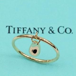 ティファニー(Tiffany & Co.)のティファニーリング K18YG750 ティアドロップ (リング(指輪))