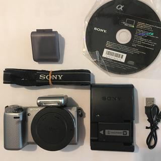 SONY - SONY NEX-5R 充電器 バッテリー ストロボ他 ショット数約2000回強