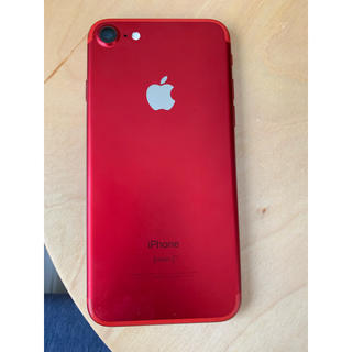 Apple - iPhone7 128ギガ red