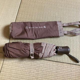 ベルメゾン(ベルメゾン)のプーさん 折りたたみジャンプ傘(日用品/生活雑貨)