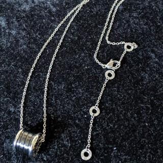 有名ユーチューバー着用モデル ブルガリ好き ネックレス シルバー(ネックレス)
