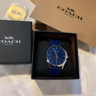 コーチ(COACH)のブルー青✴︎ 新品 コーチ 時計 COACH W1584 メンズ腕時計ウォッチ (腕時計(アナログ))