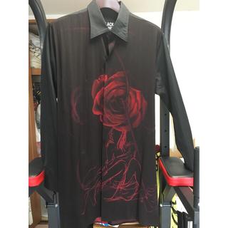 Yohji Yamamoto - Yohji Yamamoto Back Opening Print Shirt