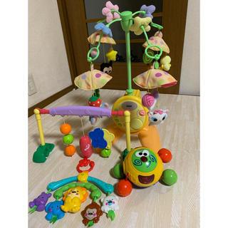 Disney - やわらかガラガラメリーデラックス フィッシャープライス ベビー おもちゃセット