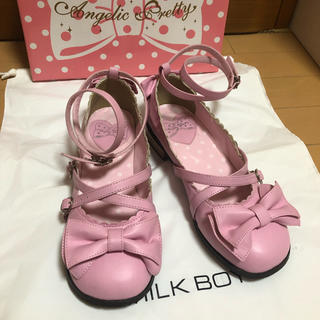 Angelic Pretty - Angelic Pretty  Tea Party Shose  ピンク