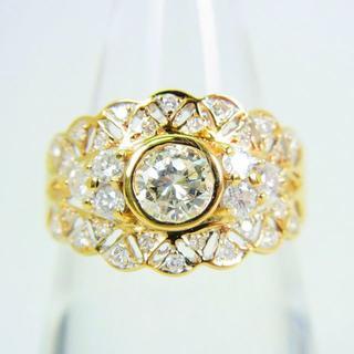 K18 ダイヤモンド リング 11.5号[f55-8](リング(指輪))