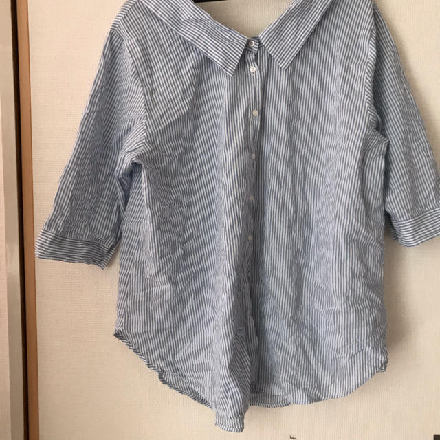 しまむら(シマムラ)の大きいサイズ シャツ 3L レディースのトップス(シャツ/ブラウス(長袖/七分))の商品写真