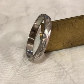 カズ様専用です☆プラチナリング(リング(指輪))