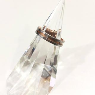 ニナリッチ(NINA RICCI)のニナリッチ 金 プラチナ コンビ リング 指輪 アクセサリー(リング(指輪))