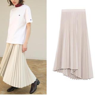 今期アシメヘムラインスカート