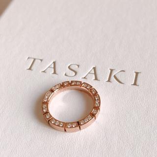 タサキ(TASAKI)のTASAKI ピアノ パヴェ  リング(リング(指輪))