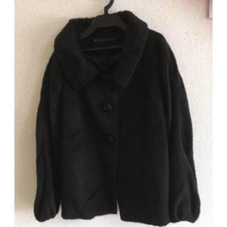 アドーア(ADORE)のマルティニーク  ブラック ショートファー  シャギー コート(毛皮/ファーコート)