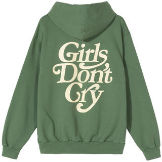 GDC - girls don't cry hoodie M グリーン