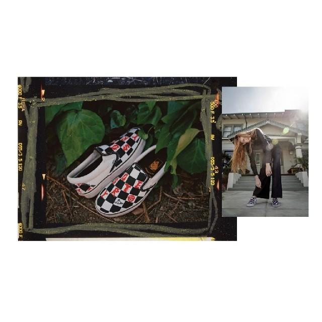 Vivienne Westwood(ヴィヴィアンウエストウッド)のVivienne Westwood × VANS スリッポン 23.5cm レディースの靴/シューズ(スニーカー)の商品写真
