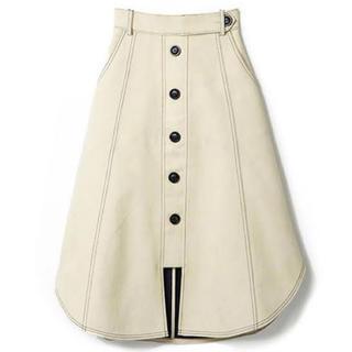 REDYAZEL - 【REDYAZEL】ステッチ配色フロントボタンスカート