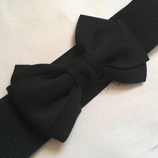 M'S GRACY - 新品♡リボンベルト♡ブラック♡エムズグレイシーお好きな方にも♡