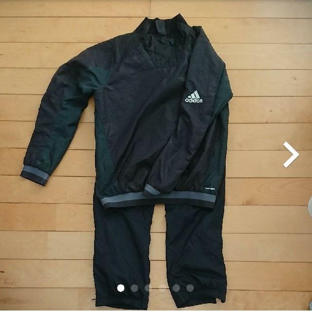 adidas(アディダス)のアディダス 150 中綿ジャージ スポーツ/アウトドアのサッカー/フットサル(ウェア)の商品写真