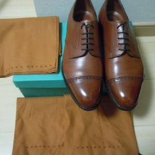 エドワードグリーン(EDWARD GREEN)の着用3回極美 エドワードグリーン 7.5 当方サイズ ジョンロブ 9795 7E(ドレス/ビジネス)