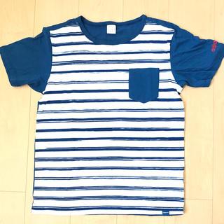 アディダス(adidas)のadidas ボーダー Tシャツ(Tシャツ/カットソー(半袖/袖なし))