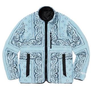 シュプリーム(Supreme)のReversible Bandana Fleece Jacket M(ブルゾン)