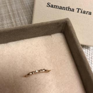 サマンサティアラ(Samantha Tiara)のサマンサティアラ/ピンキーリング/K18(リング(指輪))
