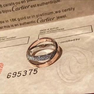 カルティエ(Cartier)のカルティエ ダイアリング(リング(指輪))