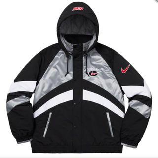 シュプリーム(Supreme)のSupreme®/Nike® Hooded Sport Jacket シルバー(ナイロンジャケット)
