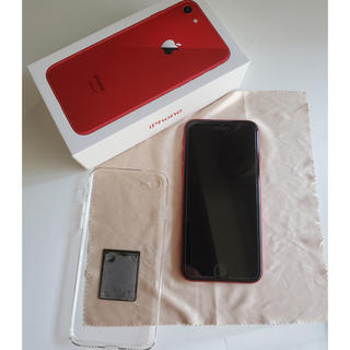 Apple - iPhone8 (PRODUCT)RED simフリー
