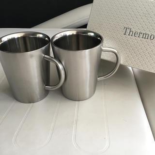 thermo mug - Thermo サーモ 二重マグカップ マグカップ ペアセット 保温 保冷 コップ