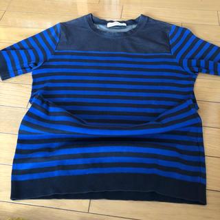トゥモローランド(TOMORROWLAND)のトゥモローランド ボーダーTシャツ(Tシャツ(半袖/袖なし))