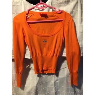 ヴィヴィアンウエストウッド(Vivienne Westwood)のヴィヴィアン ウエストウッド セーター オレンジ(ニット/セーター)