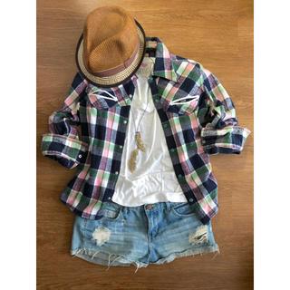 シェル(Cher)のLEE×Cher コラボチェックネルシャツ(シャツ/ブラウス(長袖/七分))