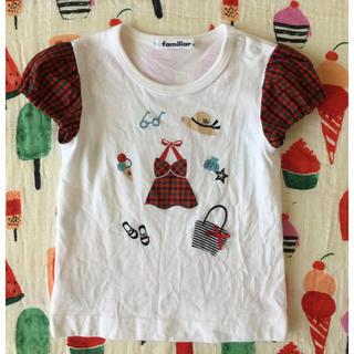 familiar - 女の子らしくて可愛いTシャツです♡*゜