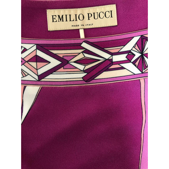 EMILIO PUCCI(エミリオプッチ)の新品 エミリオプッチ ワンピース  レディースのワンピース(ひざ丈ワンピース)の商品写真