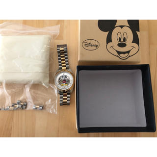 ディズニー(Disney)のディズニー・ミッキー メタルバンド 機械式自動巻腕時計(腕時計(アナログ))