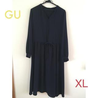 GU - GU ワンピース ネイビー