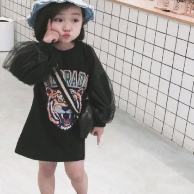 ワンピース キッズ/ベビー/マタニティのキッズ服 女の子用(90cm~)(ワンピース)の商品写真