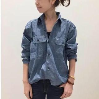 ◆美品◆MADISON BLUEマディソンブルーHAMPTONシャンブレーシャツ