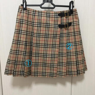 BURBERRY BLUE LABEL - バーバリー スカート
