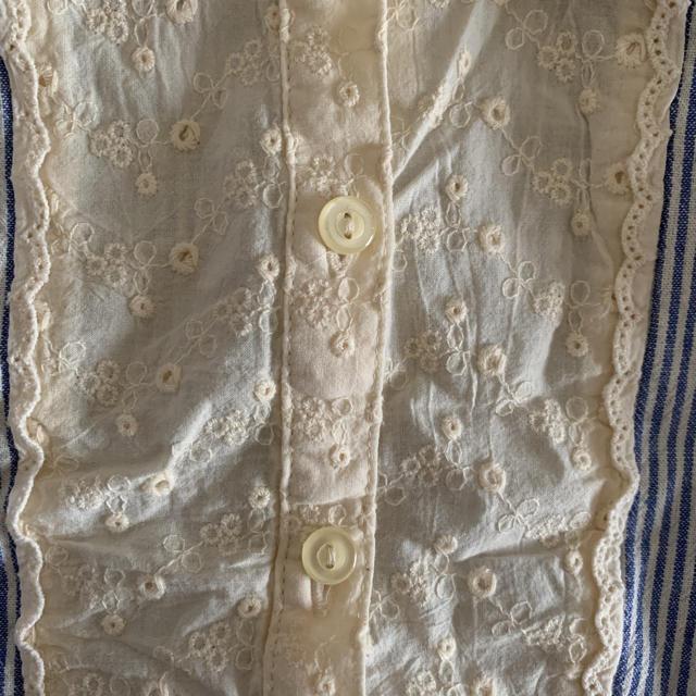 Seraph(セラフ)の美品 セラフ  seraph 女の子 ストライプ ブラウス 長袖シャツ  100 キッズ/ベビー/マタニティのキッズ服 女の子用(90cm~)(ブラウス)の商品写真