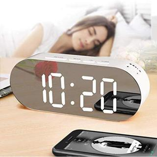 置き時計 led 目覚まし時計 大音量-ラージLED デジタル置時計