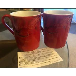 ゴディバ 2014 クリスマス マグカップ(グラス/カップ)